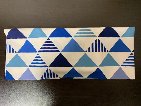 ブックカバー折り方4