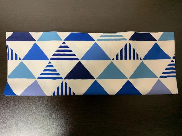 ブックカバー折り方9