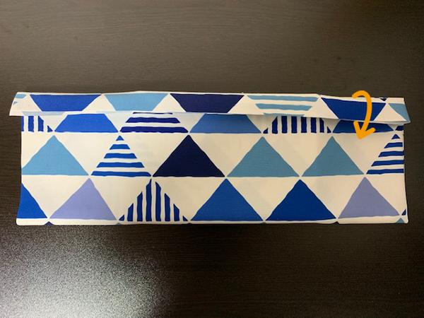 ブックカバー折り方10
