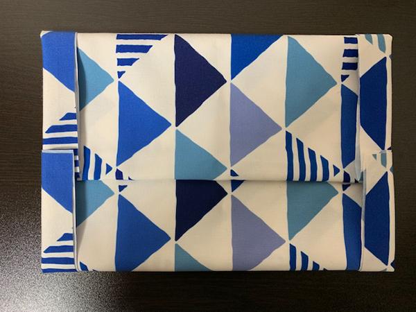 ブックカバー折り方19
