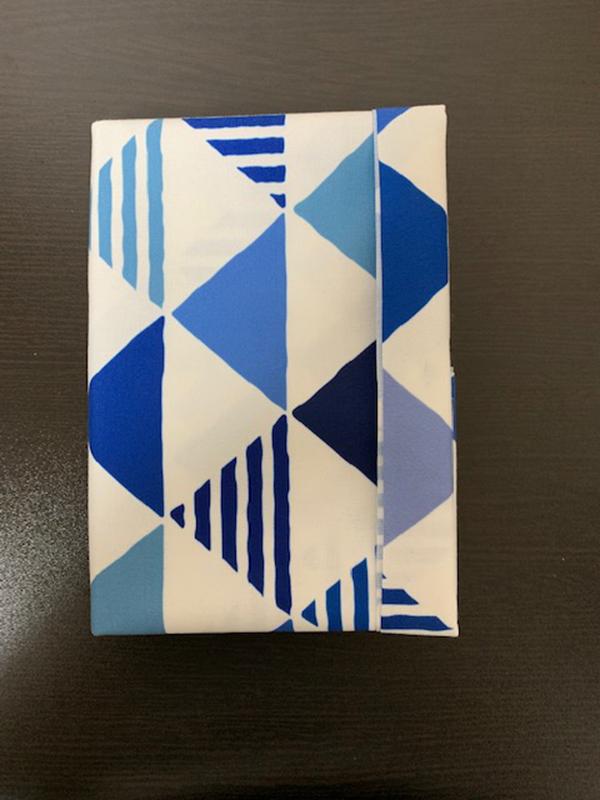 ブックカバー折り方22