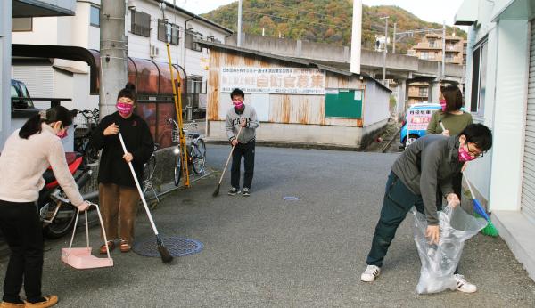 ボランティア活動マスク