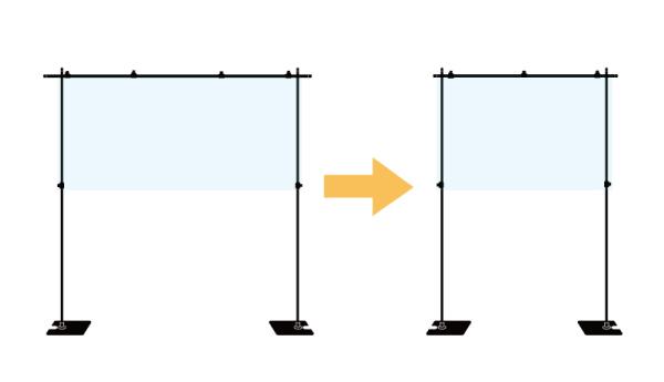 飛沫ガードセットサイズ変更1