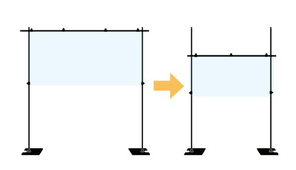 飛沫ガードセットサイズ変更2